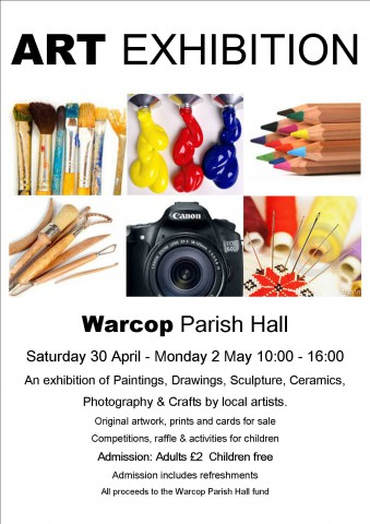 Warcop Art Exhibition Poster jpeg